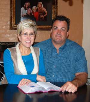 Rea and Bo Lolley credit salvation in Jesus Christ for saving their marriage that was almost destroyed by drug abuse. photo by mark h hunter