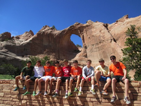 The CHS guys at Window Rock, the capital of the Navajo Nation