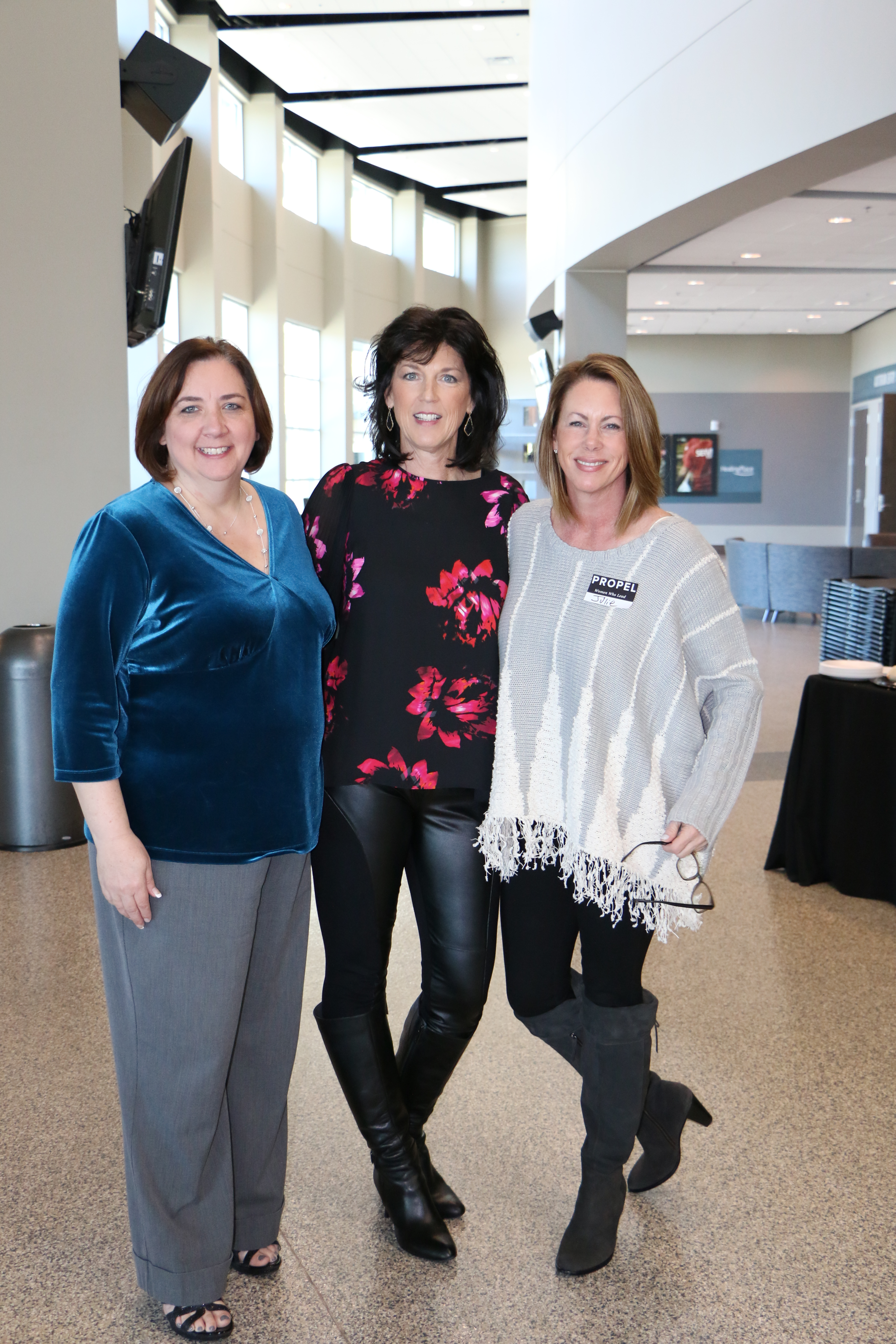 Beth Forbus, Terri Gilbert and Julie Finical