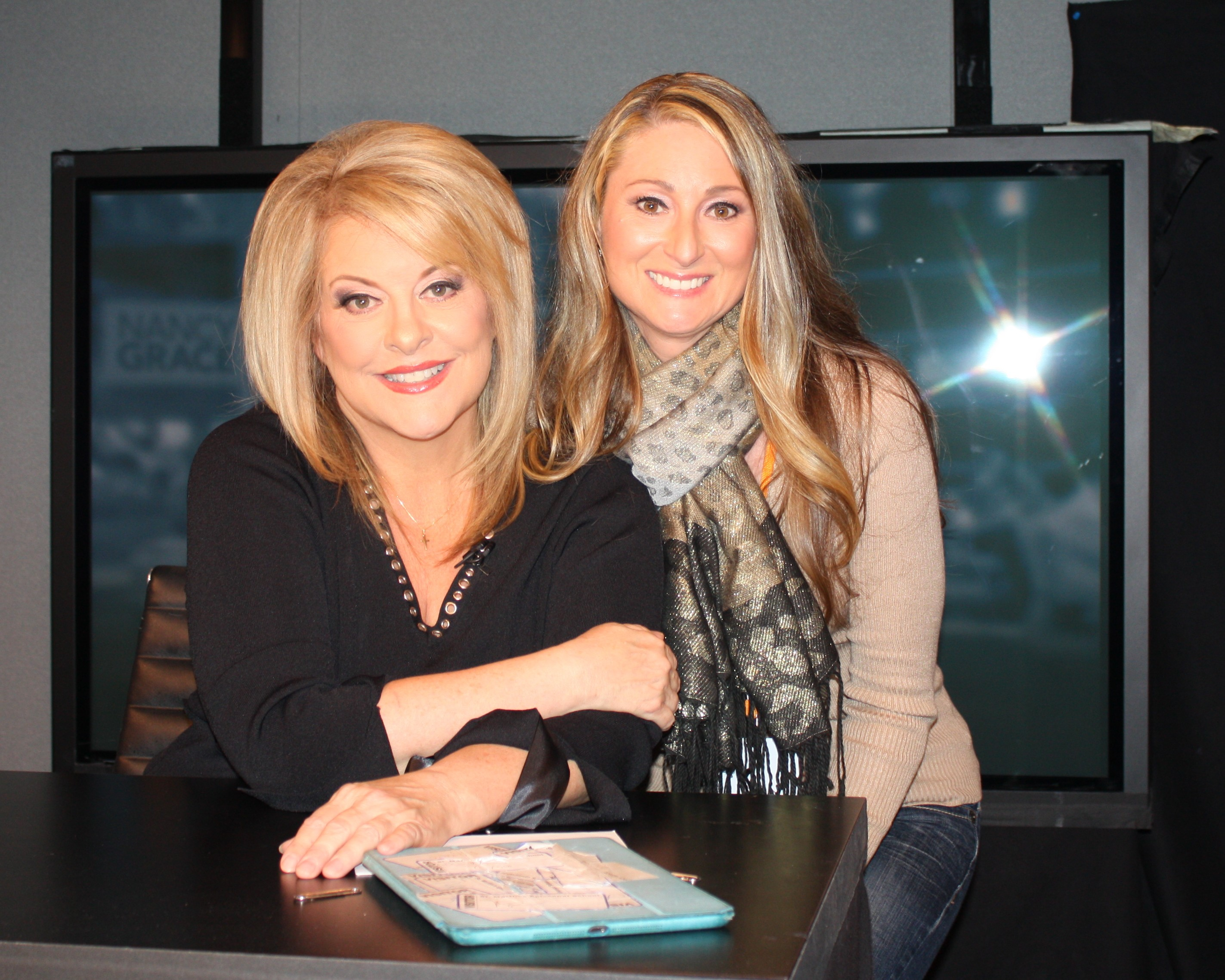 Stacie shared her story with HLN personality Nancy Grace.