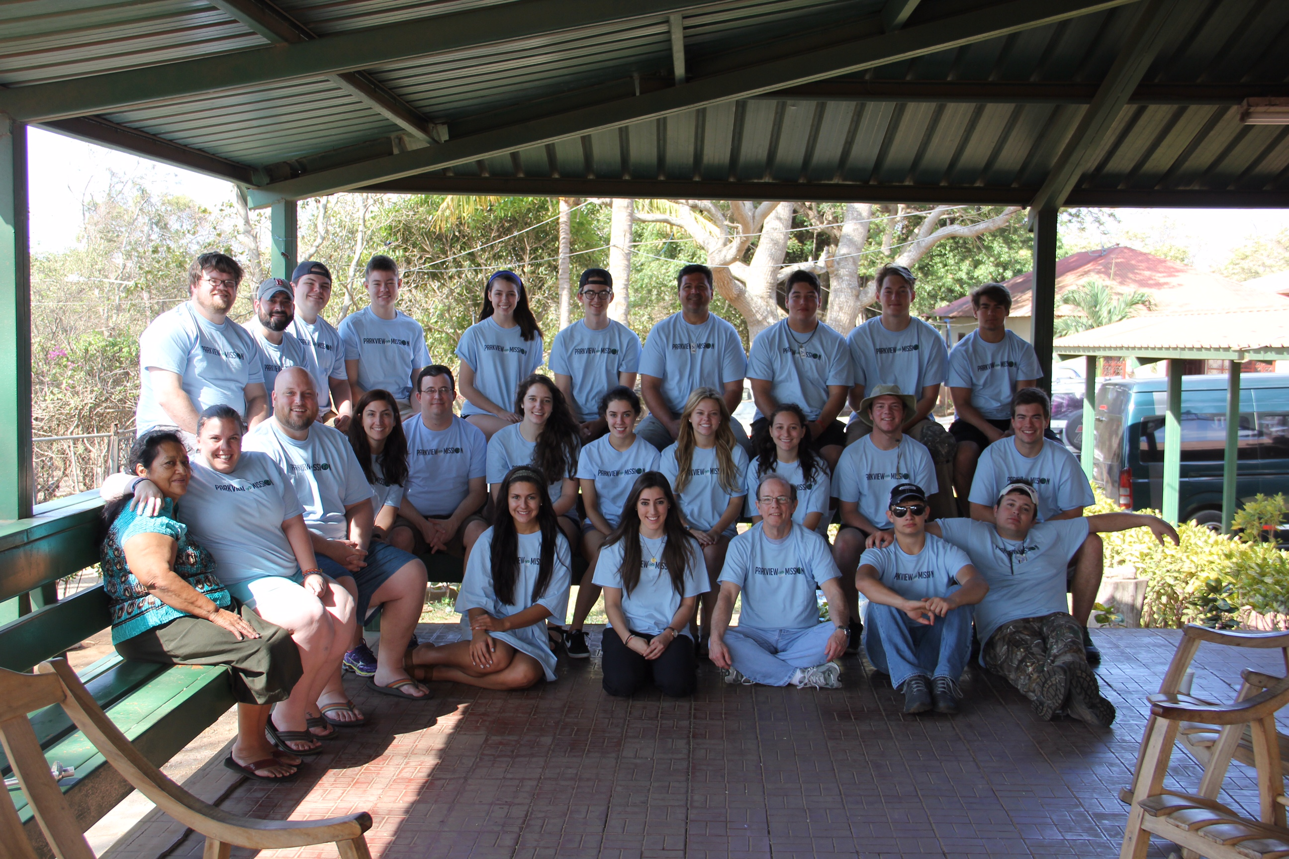 Pastor Rich Mayfield led a group of 25 students and adults to Nicaragua in March.