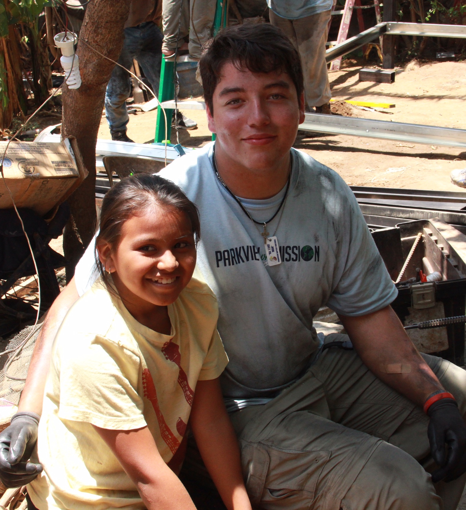 Students bonded with the Nicaraguan children during the trip.