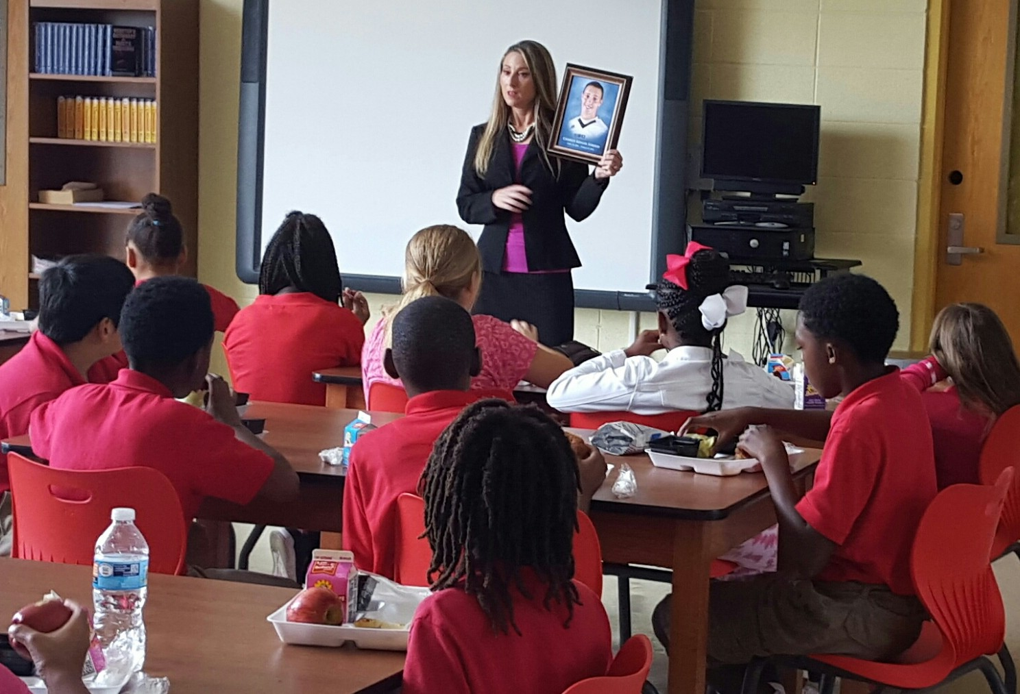 Educating schoolchildren on the dangers of huffing has become Stacie Triche's mission.