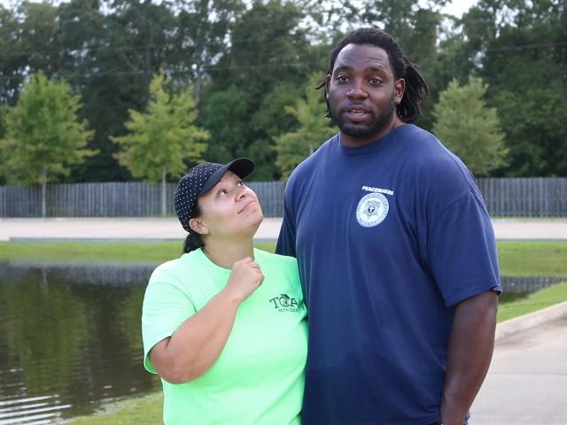 Derrick and Cheree.