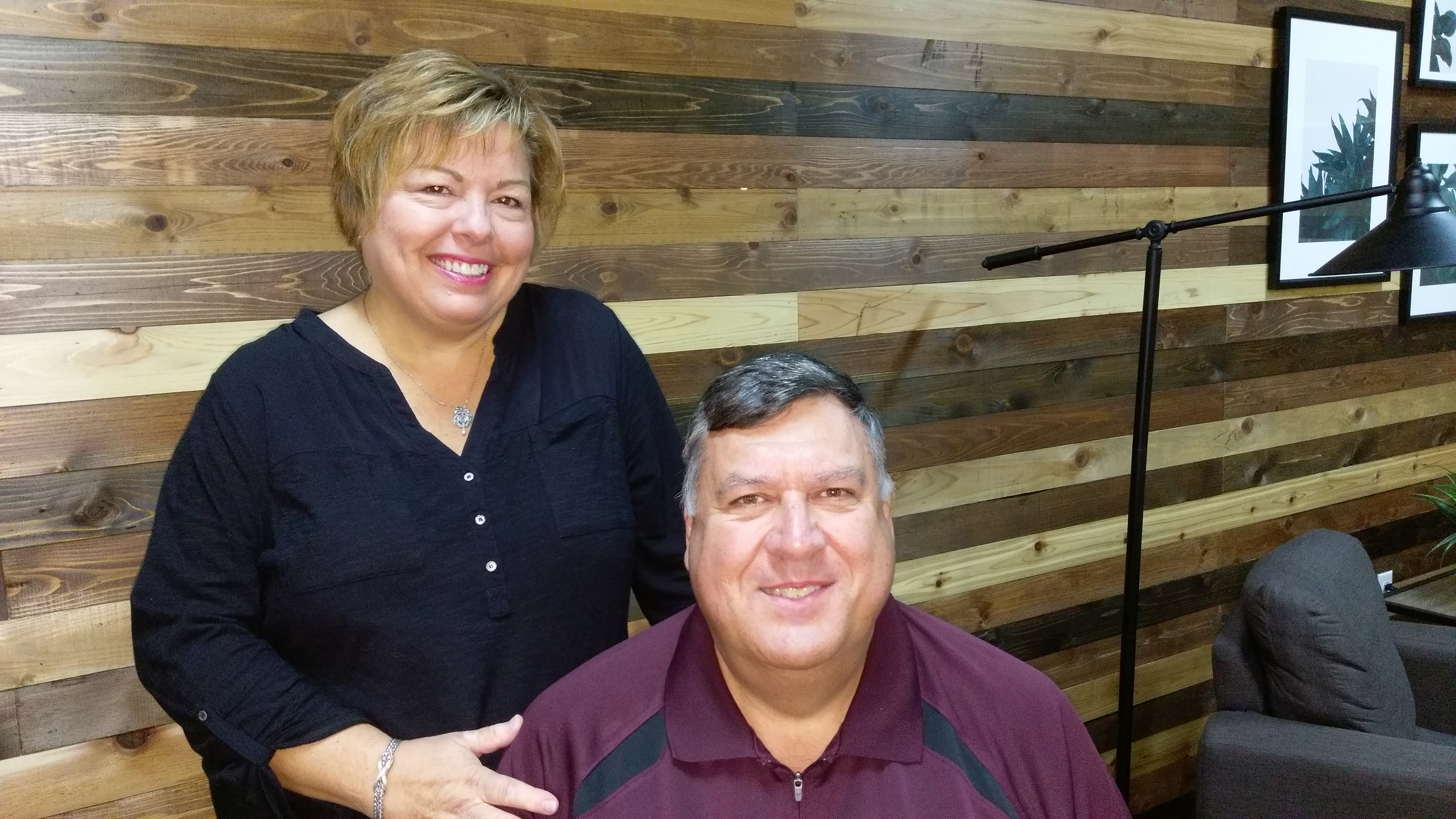 Cindy and Jim Barker, members of The Chapel, opened their home to international guests in need of room and board.