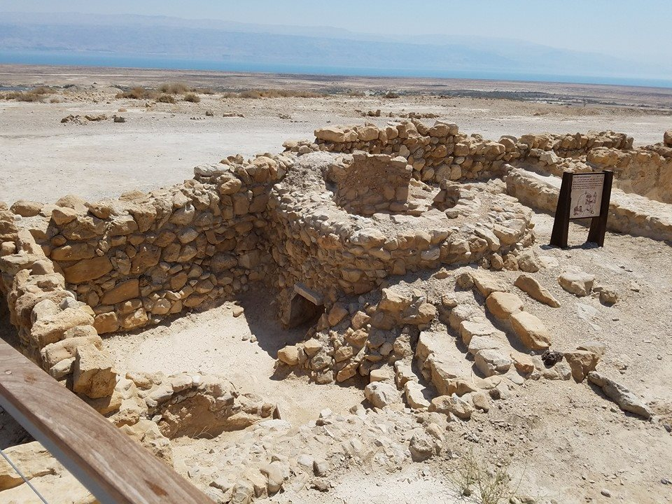 Dead Sea Scroll Location.