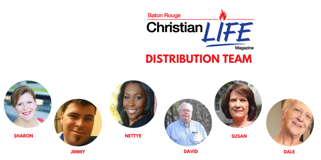 Distribution Team - Baton Rouge Christian Life Magazine