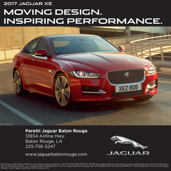 Baton Rouge Christian Life Magazine with Parretti Jaguar